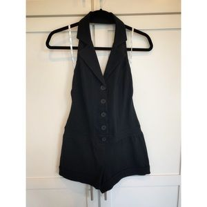 Guess One Piece Shorts with Halter Vest